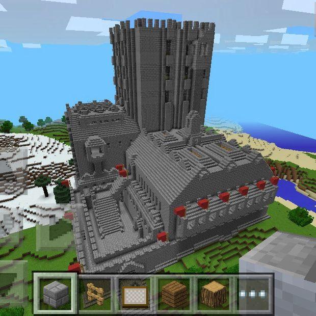Minecraft Médiévales Forteresse Semi Guide étape 13