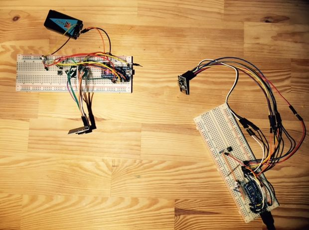 arduino nrf24l01 communication sans fil bidirectionnelle simple. Black Bedroom Furniture Sets. Home Design Ideas