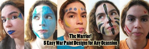 Idées De Peintures De Guerre Tubefrcom