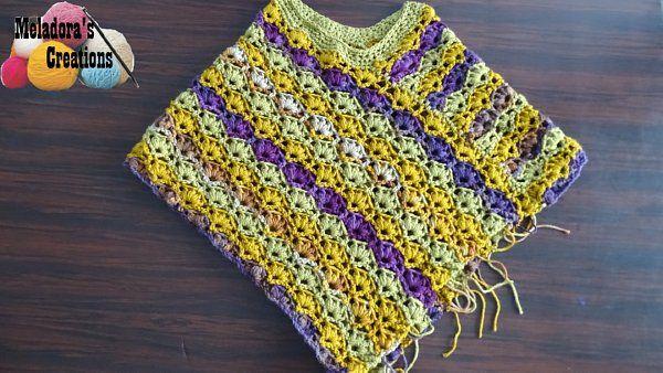 Poncho Winsome Crochet Patron Gratuit Tutoriels Video Tubefr Com
