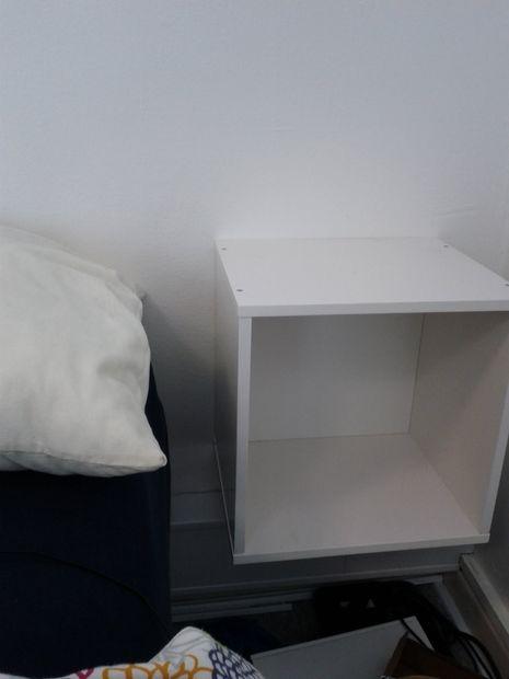 Ikea Hacker Chevet Table Armoire Lampe Tubefrcom