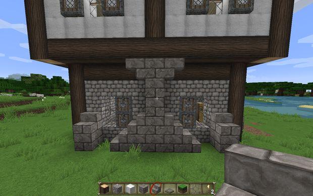 Comment construire une maison m di vale dans minecraft for Construire sa maison etape par etape