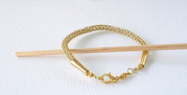 Viking Knitting Tutorial Pdf : Viking knit bracelet tubefr