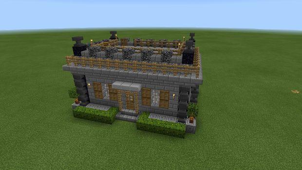 Maison Médiévale De Minecraft Pe Tubefrcom