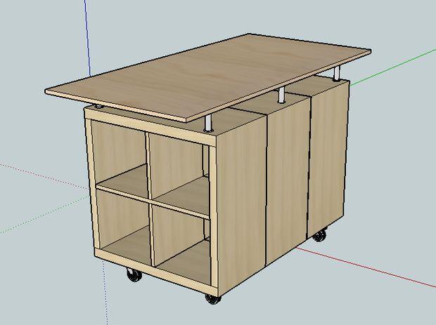 Étape Disposition Table La Kallax Galant 5 Et Engineering Ikea thxBCQdrs