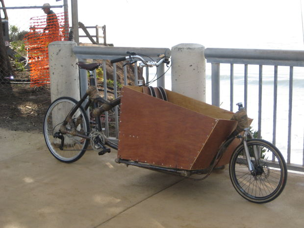 Fabuleux Intro - comment concevoir et construire un vélo Cargo de bambou  TL55