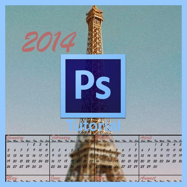 Calendrier Ps.Comment Faire Un Calendrier Dans Photoshop Tubefr Com