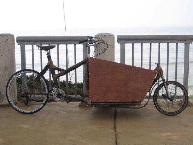 Bien-aimé Intro - comment concevoir et construire un vélo Cargo de bambou  BH17